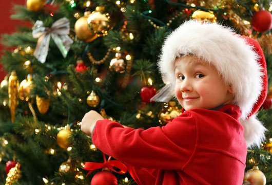 Discovering that Christmas feeling with Children