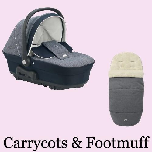 Carry Cots & Footmuffs
